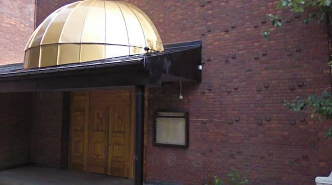 Rague Ali Yussuf vid Gävle islamiska center har ingen aning om varför han är med på Säpos lista, skriver Gefle Dagblad. Foto: Google Earth/SKÄRMDUMP
