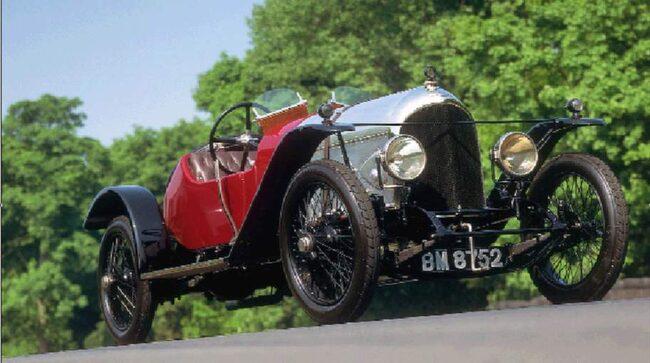 Bentley EXP No 2 från 1922.