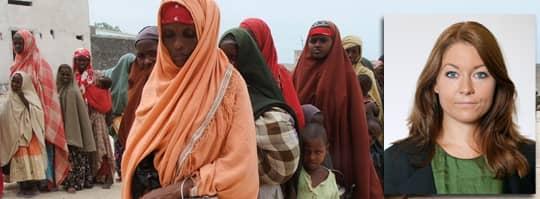 MOGADISHU. Torkan på Afrikas horn har orsakat en omfattande matkris och drabbat miljoner människor. Foto: FARAH ABDI WARSAMEH/AP Foto: FARAH ABDI WARSAMEH/AP