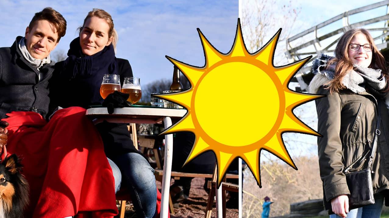 Passa på och njut – solfesten fortsätter