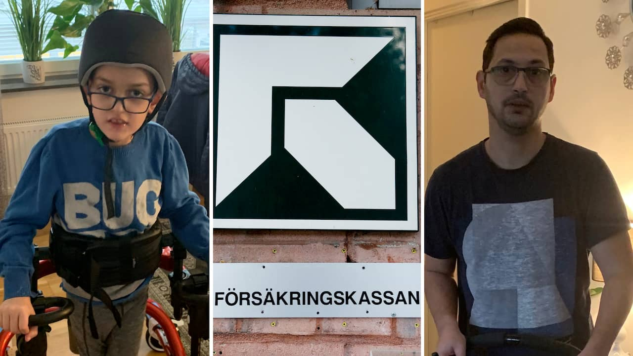 """Nioårige Edi får 30 anfall per dag – kan förlora sin assistans: """"Ren tortyr"""""""