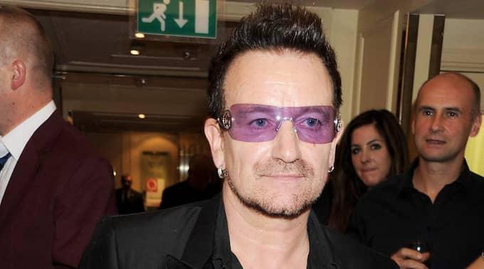 U2-sångaren hyllade Sveriges engagemang i mänskliga rättigheter. Foto: Dave M. Benett