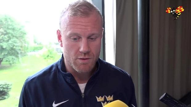 """Patric Hörnqvist: """"Vi vill vinna VM-guld"""""""