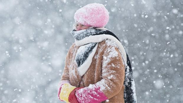 På med vinterjackan – här kan det bli snö!