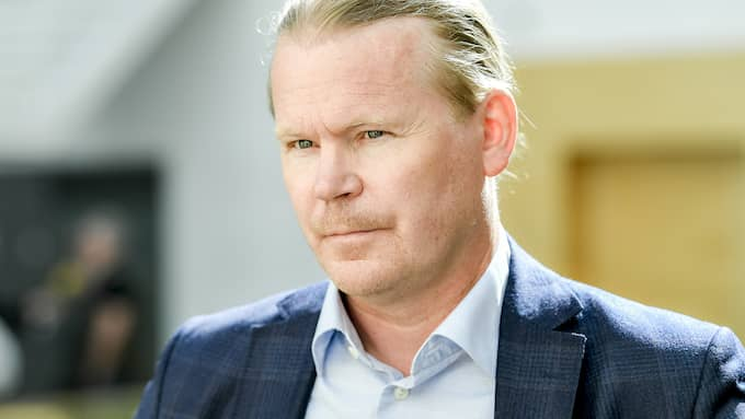 Advokat Lars Jähresten försvarar Mohammad Rajabi. Foto: ALEX LJUNGDAHL
