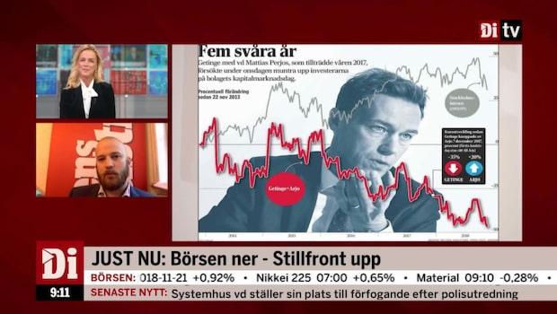 Richard Bråse analyserar Getinge efter kapitalmarknadsdagen