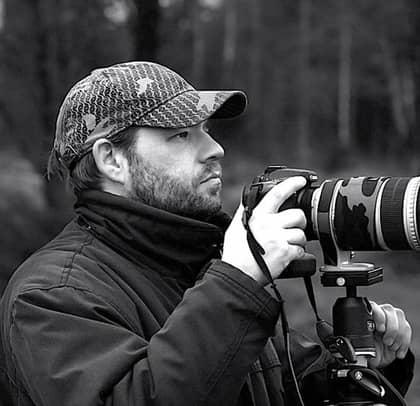 Bakom humorbilderna 39-åriga Magnus Muhr från Karlskoga. Foto: Magnus Friberg