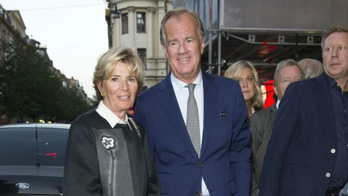 Stefan Persson med sin hustru Carolyn Denise Persson. Foto: STEFAN SÖDERSTRÖM