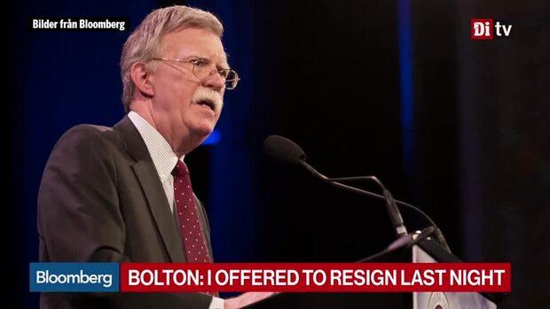 Världens affärer 10:30 - Bolton får sparken av Trump