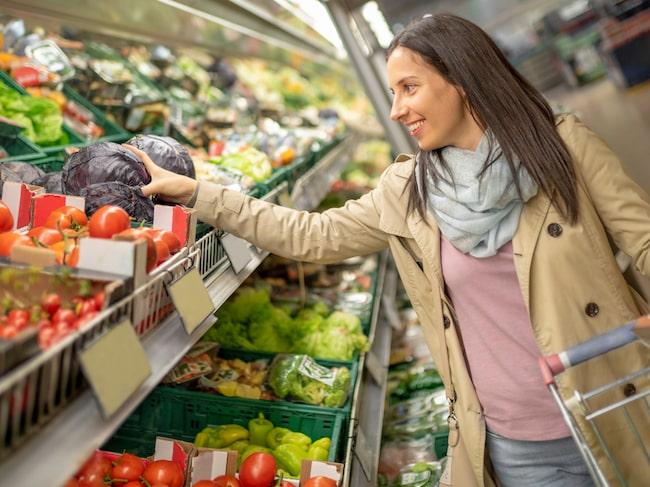 Hur eftertänksam är du när du handlar mat? Livsmedlen vi väljer påverkar klimatet olika mycket.