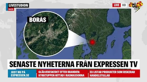 Stort bråk i Borås – 15 personer inblandade