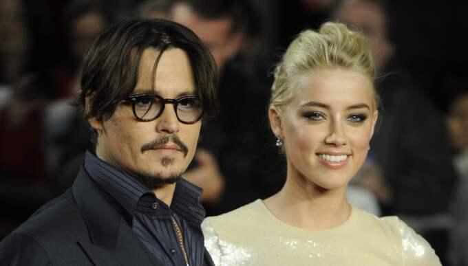 Johnny Depp och Amber Heard skiljer sig efter 15 månader som gifta. Foto: Tristan Gregory / CAMERA PRESS/TRISTAN GREGORY/BULLS 0008VDPU
