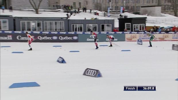 Kläbo tog viktiga poäng i masstarten i Québec