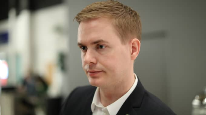 Gustav Fridolin föreslog på fredagen fotboja för personer som fått avvisningsbeslut. Förslaget hånades i sociala medier. Foto: Adam Ihse/TT