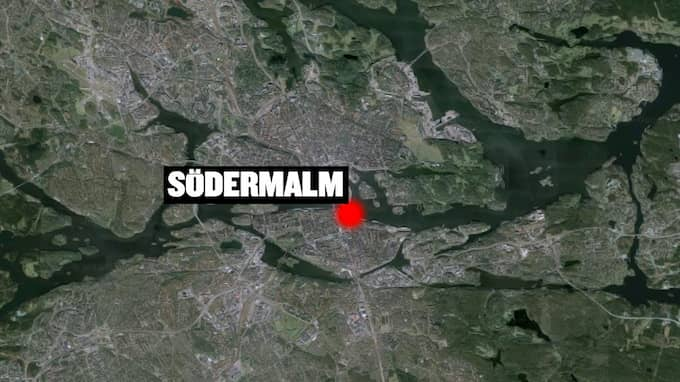Händelsen inträffade på centrala Södermalm. Foto: / SKÄRMDUMP