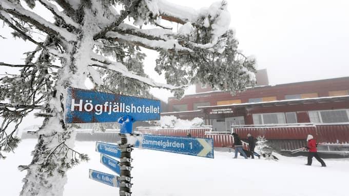 Här på Högfjällshotellet i Sälen äger mötet rum. Foto: ULF PALM / SCANPIX / SCANPIX SWEDEN