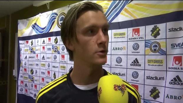 """Kristoffer Olsson klar för AIK: """"AIK kommer utveckla mig"""""""