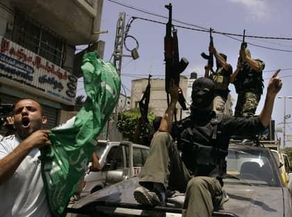 Palestinska grupper samordnar strid