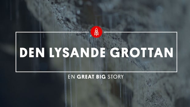 Mystiska skenet – 45 meter under jord