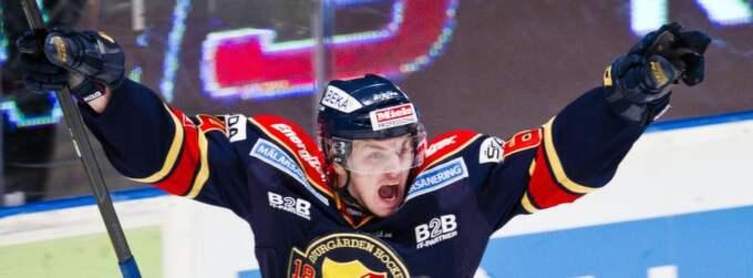 Daniel Brodin aktuell för Brynäs. Foto: Andreas L Eriksson