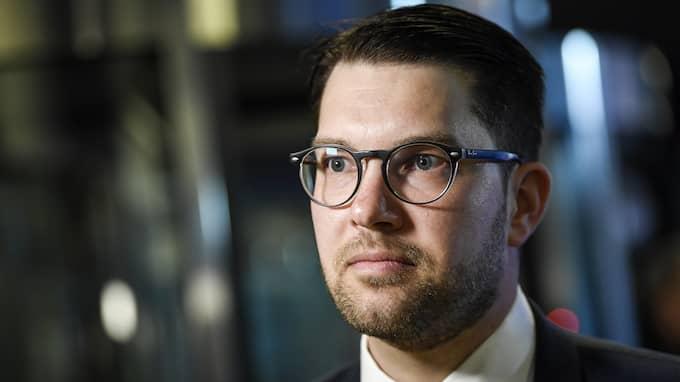 Vår tidigare starka rättsstat levererar inte. I de mest akuta lägena finns inte det offentliga på plats så som vi är vana vid, skriver Jimmie Åkesson (SD). Foto: MAJA SUSLIN/TT