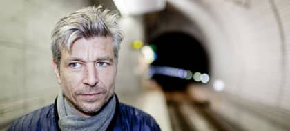 Kampen klar. Karl Ove Knausgård har nu fullbordat sin roman om sex band. Foto: Anders Hansson