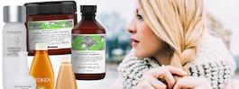 Vårda vinterhåret med schampo och balsam