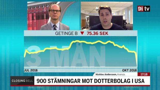 "Andersson om Getinge: ""En olycka kommer sällan ensam"""