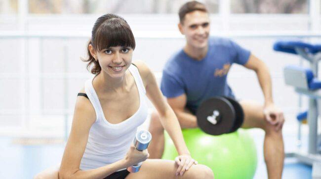 Det finns flera fördelar med att motionera ihop.