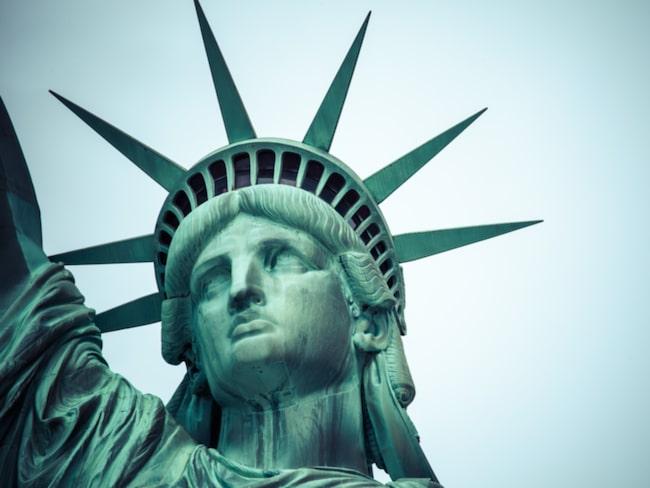 Näsan på Frihetsgudinnan är 146 centimeter lång.
