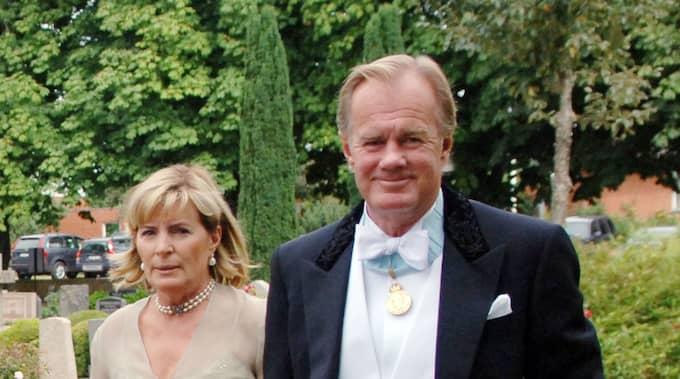 Stefan Persson, här i sällskap med Denise Persson, är den rikaste svensken på listan. Foto: Lasse Svensson