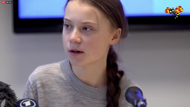 """Greta Thunberg: """"Vi gör detta för att få människor med makt att agera"""""""