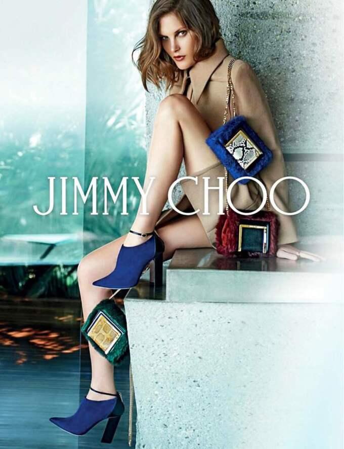 Catherine McNeil för Jimmy Choo.