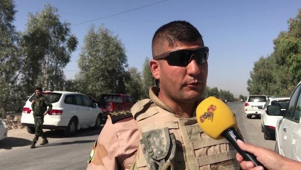"Peshmergakaptenen: ""Irakiska styrkor attackerade oss"""