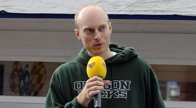 Karl Sigfrid, M, är riksdagsledamot. Foto: Jan Düsing