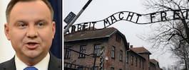 Kontroversiell lag om nazisternas folkmord läggs på is