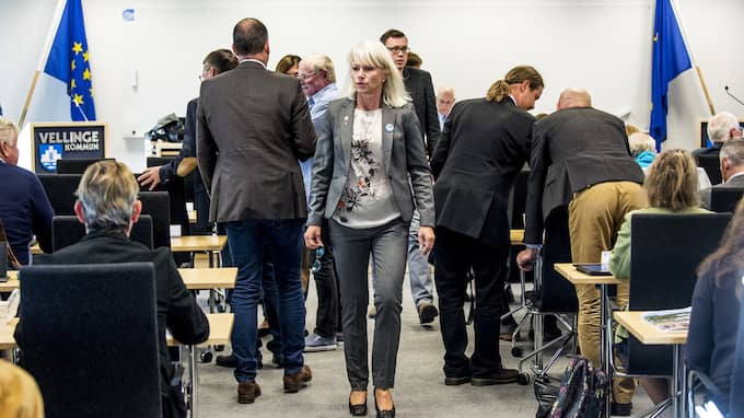 20 september rösta kommunfullmäktige i Vellinge igenom tiggeriförbud – men det stoppades senare, på juridiska grunder, av länsstyrelsen. Foto: CHRISTIAN ÖRNBERG
