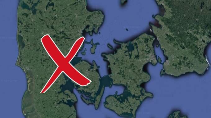 Överfallet skedde i Fredericia i Danmark.