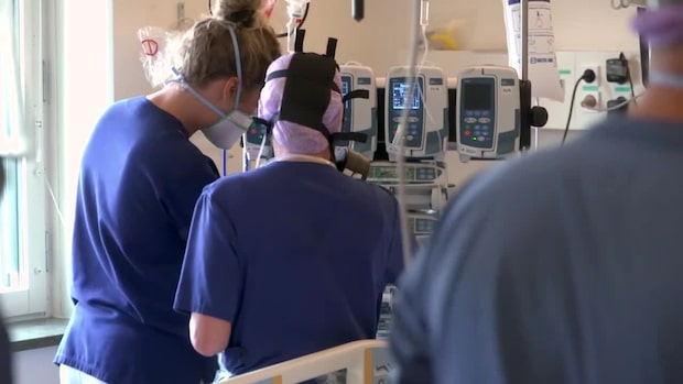 Gelé i lungorna hos covid-19-patienter kan ligga bakom lungsvikten