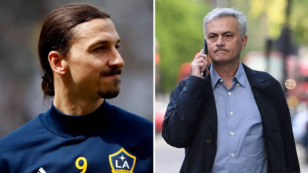 Uppgifter: Mourinho vill värva Zlatan till Tottenham