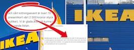 Bedragare blåser offer med Ikea-presentkort
