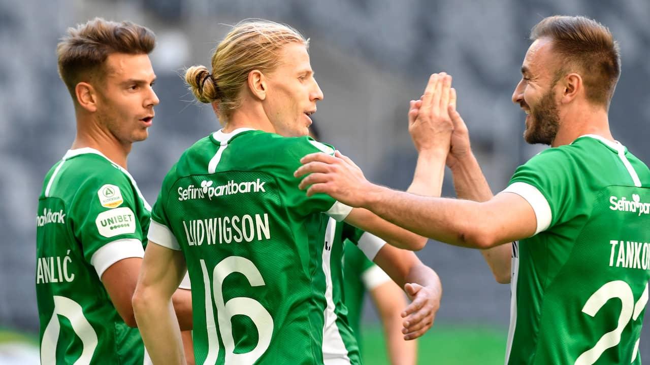 Hammarby slog Varberg – Gustav Ludwigson blev oväntad hjälte