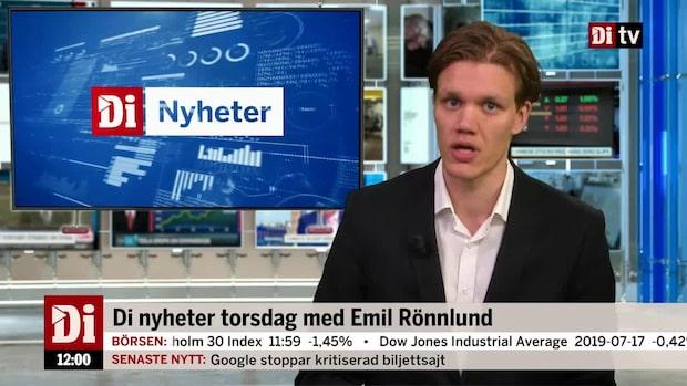 Di nyheter – Rapport flod och blodröd Stockholmsbörs