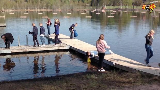 """Eleverna botar sjön – """"Hjälpt mig förstå vad man själv kan göra"""""""