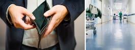50-åring inlagd på Capio Maria – personalen gav bort hans plånbok