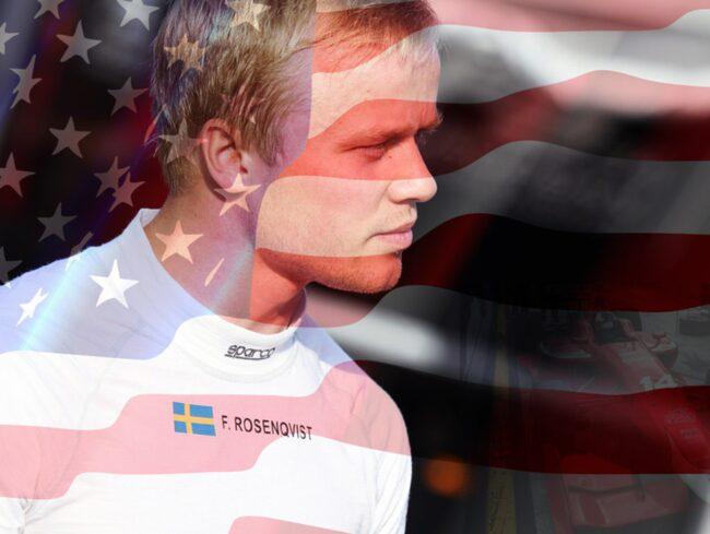 Felix Rosenqvist jagar den amerikanska drömmen: Nio miljoner kronor och en start i Indy 500.