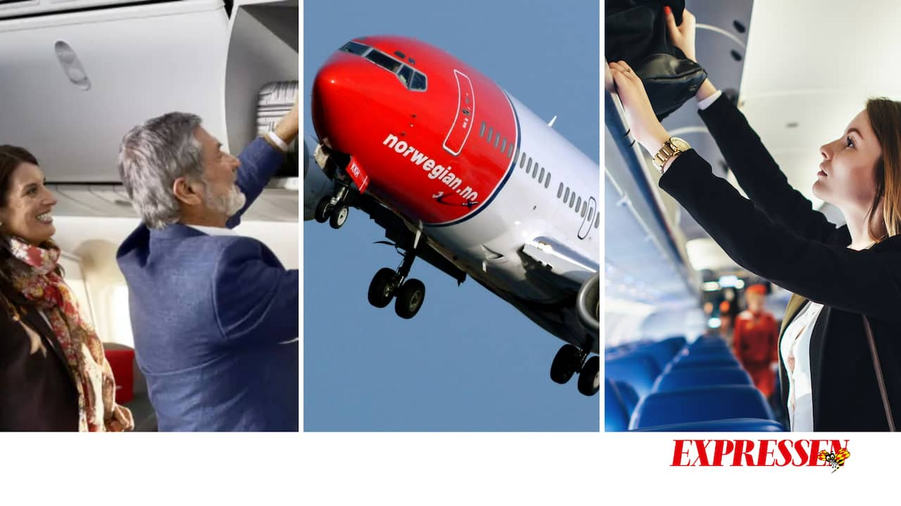 hur mycket bagage norwegian