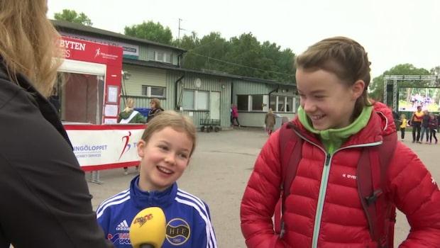 """Lovisa, 12: """"Mitt mål är att komma in i mål"""""""