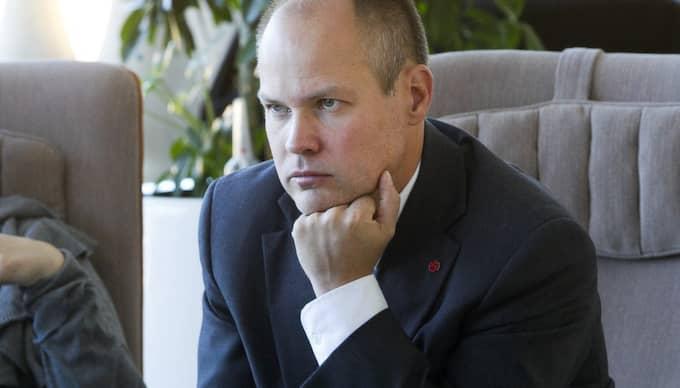 Morgan Johansson. Foto: Sven Lindwall