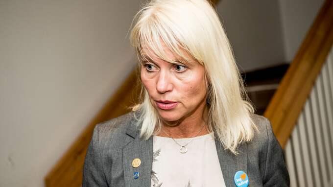 Kommunstyrelsens ordförande Carina Wutzler, (M). Foto: CHRISTIAN ÖRNBERG